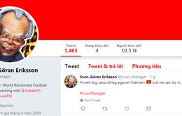 HLV Eriksson viết status trước trận bán kết lượt về với ĐT Việt Nam