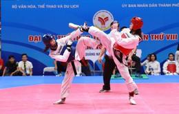Môn Taekwondo Đại hội TTTQ 2018: TP.HCM chiếm ưu thế với 4 HCV