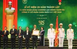 Công ty C.P. Việt Nam nhận Huân chương Lao động hạng Ba
