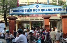 Vụ cô giáo ở Hà Nội bắt học sinh tát bạn: Tạm đình chỉ giáo viên