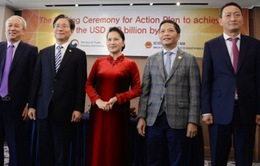 Việt Nam – Hàn Quốc hướng tới 100 tỷ USD thương mại song phương