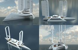 Siêu du thuyền chạy bằng năng lượng gió