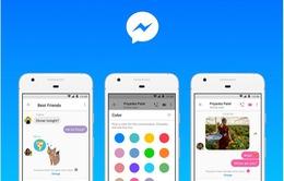 Sau thời gian dài bỏ bê, Facebook cập nhật nhiều tính năng mới trên Messenger Lite