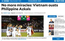 """Báo Philippines thừa nhận """"hết phép màu"""" ở Mỹ Đình"""