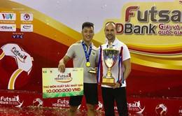 Thủ thành ĐT Futsal Việt Nam lọt vào tốp 10 xuất sắc nhất thế giới