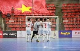 ĐT U20 Futsal Việt Nam có chiến thắng đầu tiên tại Vòng loại châu Á 2019