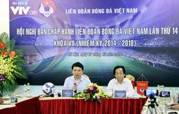 Đại hội Liên đoàn bóng đá Việt Nam khóa VIII ngày 8/12 sẽ bầu Chủ tịch và 3 Phó chủ tịch