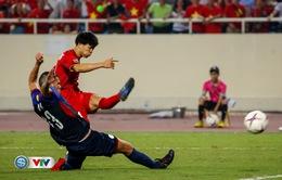 ẢNH: Toàn cảnh ĐT Việt Nam giành chiến thắng trước ĐT Philippines trên sân Mỹ Đình