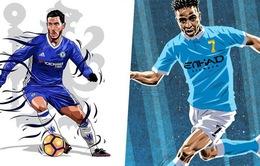 Lịch thi đấu bóng đá châu Âu đêm nay: Tâm điểm màn so tài Chelsea - Man City