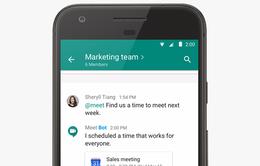 Google đưa tính năng trả lời thông minh lên công cụ chat Hangouts
