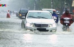 Mưa lớn gây ngập lụt tại Nghệ An