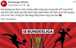 Bundesliga chúc mừng thành công của Đội tuyển Việt Nam