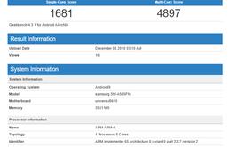 Samsung Galaxy A50 lộ diện sức mạnh chip Exynos 7 9610, vượt mặt đối thủ tầm trung