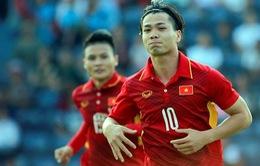 VIDEO: Công Phượng ghi bàn tung lưới U23 Iraq, mở tỉ số cho U23 Việt Nam