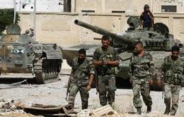 Quân đội Syria vây chặt phiến quân ở 3 tỉnh Tây Bắc