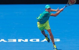 Giải quần vợt Sydney International: Venus bị loại, De Minaur tiếp tục gây ấn tượng