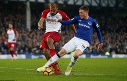 Sao Everton dính chấn thương kinh hoàng khiến đối thủ rơi lệ