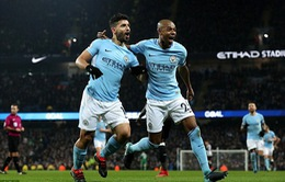 VIDEO Man City 3-1 Newcastle: Aguero lập hattrick hoàn hảo