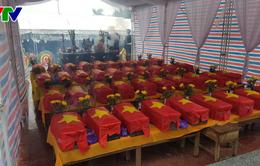 Quảng Trị tổ chức lễ an táng 40 hài cốt liệt sỹ