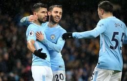 VIDEO Tổng hợp trận đấu: Man City 3-0 West Brom