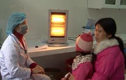 Lạng Sơn: tăng cường chăn ấm, lò sưởi điện đến 100% buồng bệnh nhân để chống rét