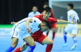 VCK futsal châu Á 2018: ĐT Futsal Việt Nam thất bại ở những giây cuối cùng