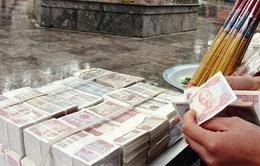 """Càng gần Tết Nguyên đán, thị trường đổi tiền lẻ càng """"nóng"""""""