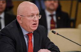Nga không đồng thuận để Hội đồng Bảo an LHQ trừng phạt Iran