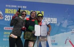 Cuộc chạy bộ độc đáo tại PyeongChang