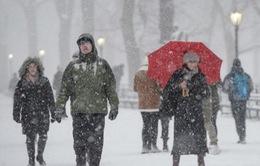 Bão tuyết tấn công nước Mỹ, 2 người thiệt mạng