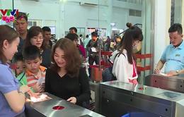 Ga Sài Gòn tăng chuyến gấp 3 lần phục vụ khách dịp Tết