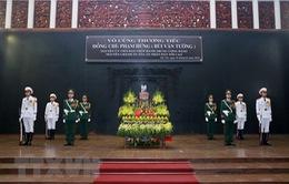 Lời cảm ơn về Lễ tang nguyên Chánh án TAND tối cao Phạm Hưng