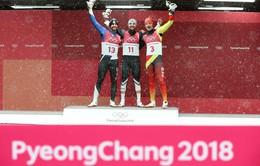 Bảng tổng sắp huy chương Olympic mùa đông PyeongChang 2018: Đoàn Thể thao Đức tiếp tục duy trì vị trí dẫn đầu