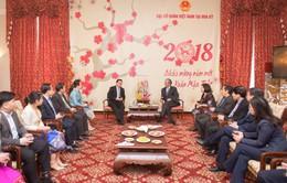 Đại sứ quán Lào tại Hoa Kỳ chúc Tết Đại sứ quán Việt Nam