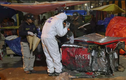 Nổ bình gas tại lễ hội hóa trang ở Bolivia, ít nhất 8 người thiệt mạng