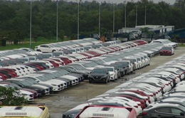 Doanh số bán hàng toàn thị trường ô tô giảm trong mùa mua sắm cuối năm