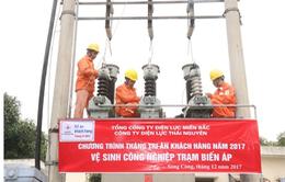 Điện lực Thái Nguyên hoàn thành tốt công tác phục vụ khách hàng