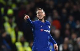 Chelsea thắng đội bét bảng, Eden Hazard lớn tiếng tuyên chiến Barcelona