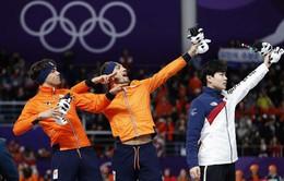 Bảng tổng sắp huy chương Olympic mùa đông PyeongChang 2018: Đoàn thể thao Hà Lan bám đuổi ngôi đầu