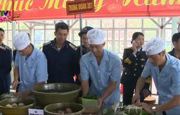 Bộ Tư lệnh Vùng 3 Hải quân tổ chức hội thi gói bánh chưng