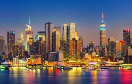 New York là thành phố giàu nhất thế giới trong năm 2017