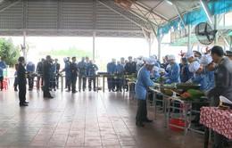 Vùng 3 Hải quân tổ chức ngày hội thi gói bánh chưng