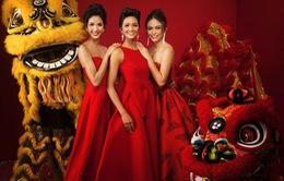 Dàn Hoa Hậu, Á hậu Hoàn vũ Việt Nam rực rỡ trong bộ ảnh đón Tết