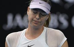 Maria Sharapova cay đắng dừng bước ngay vòng đầu tiên tại Qatar Open 2018