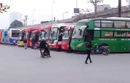 Các bến xe ở Hà Nội thông thoáng ngày cận Tết