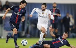 Lịch thi đấu vòng 1/8 Champions League ngày 15/2: Tiêu điểm Real – PSG
