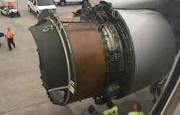 Mất vỏ động cơ, máy bay phải hạ cánh khẩn cấp