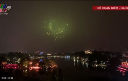 Màn pháo hoa rực sáng khắp các tỉnh thành cả nước đêm giao thừa