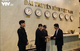 Tổng Giám đốc Trần Bình Minh chúc Tết các đơn vị VTV dịp Năm mới Mậu Tuất 2018