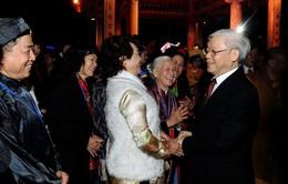 Tổng Bí thư Nguyễn Phú Trọng chúc Tết Đảng bộ và nhân dân Thủ đô